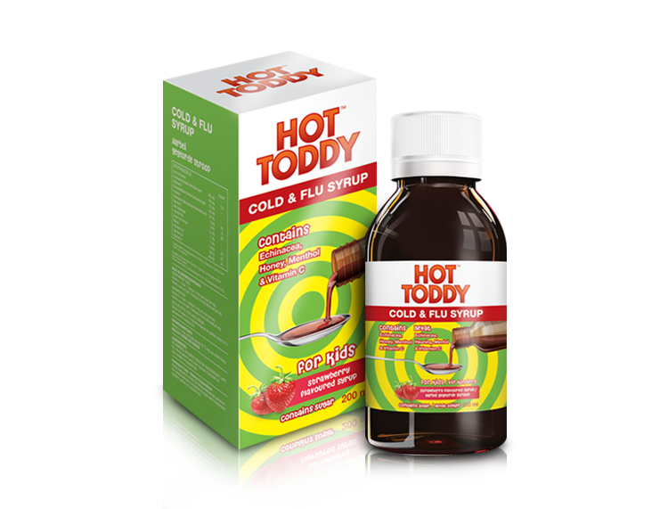 Hot Toddy™ - Cold & Flu Syrup | 200 ml