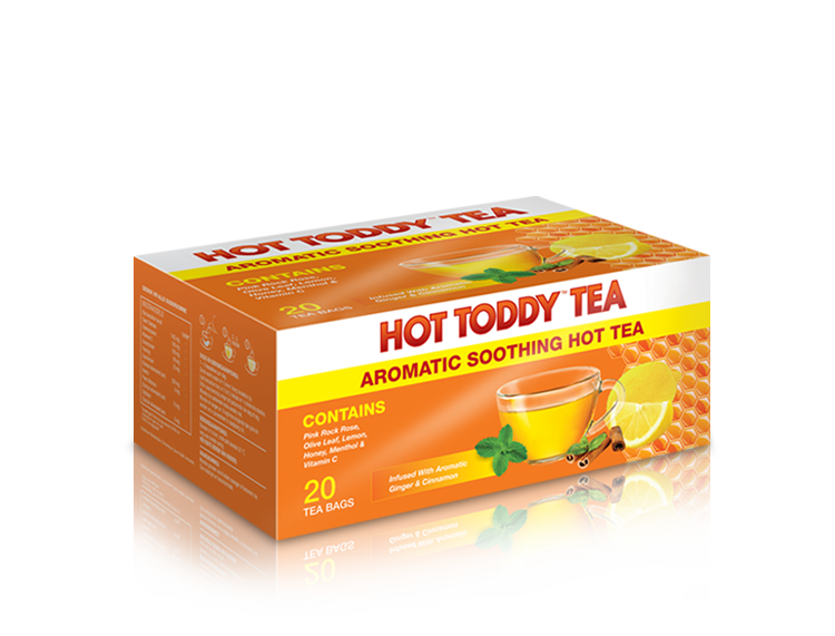 Hot Toddy™ - Aromatic Soothing Hot Tea