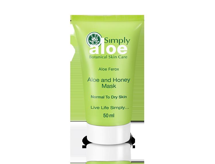 Simply Aloe - Aloe and Honey Mask | 50 ml