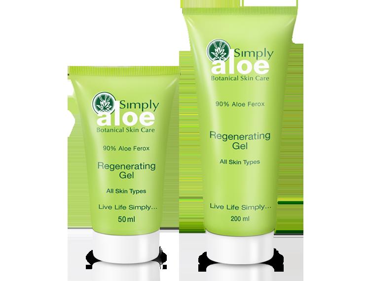 Simply Aloe - Regenerating Gel | 50 ml & 200 ml
