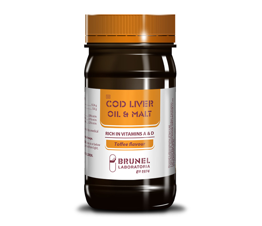 Cod Liver Oil & Malt - 500 g