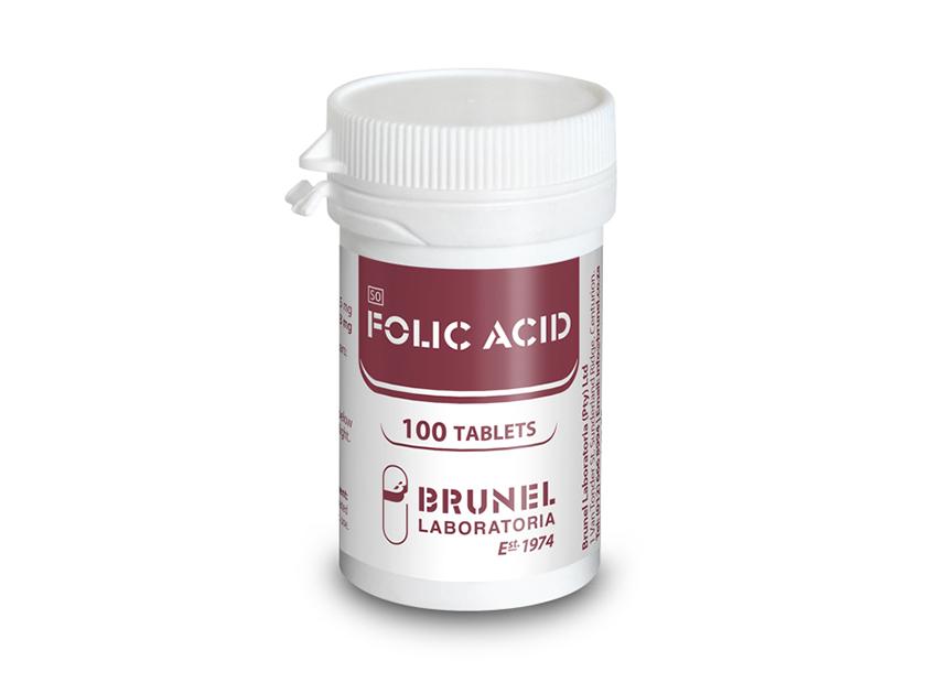 Folic Acid Tablets - 100