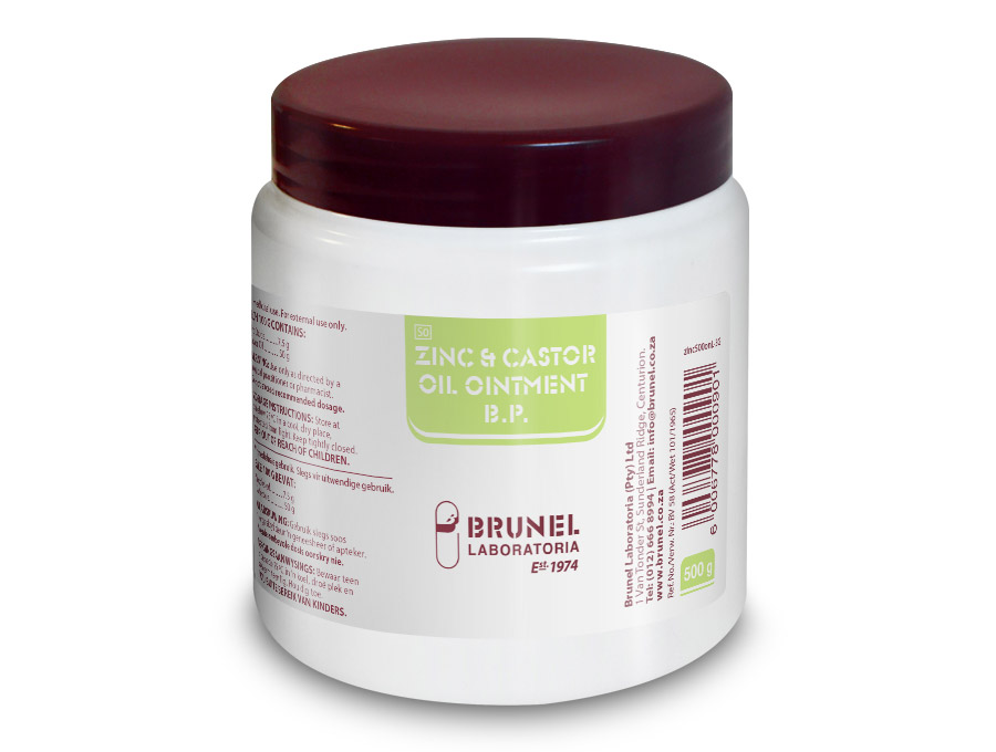 Zinc & Castor Oil Ointment - 500 g