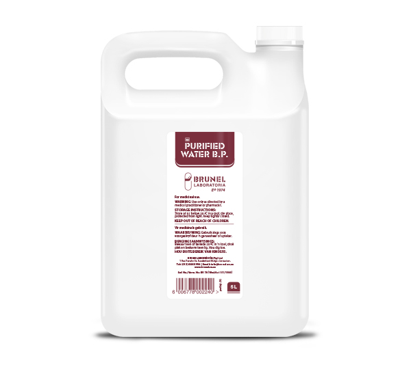 Purified Water - 5L