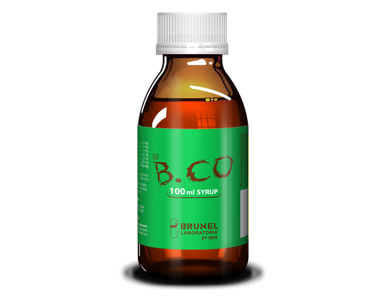 B.CO Syrup - 100 ml