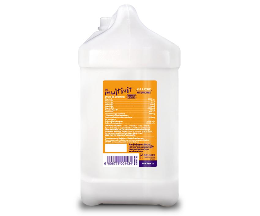 Multivit Syrup - 2.5 L