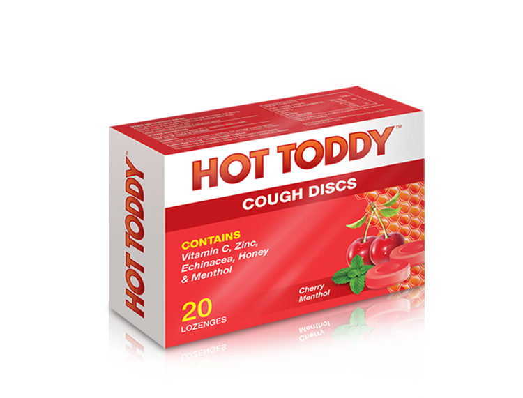 Hot Toddy™ - Cough Discs | 20s