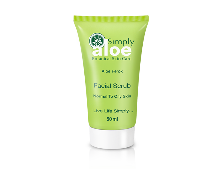 Simply Aloe - Facial Scrub | 50 ml