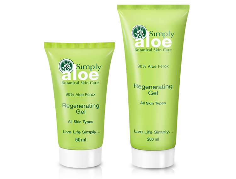 Simply Aloe - Regenerating Gel | 50 ml & 200 ml