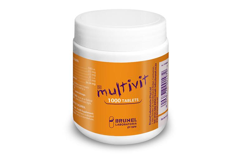 Multivit Tablets - 1000