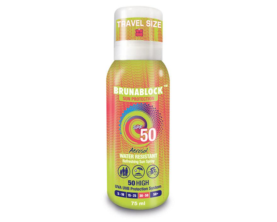 Brunablock Aerosol SPF 50 - 75 ml
