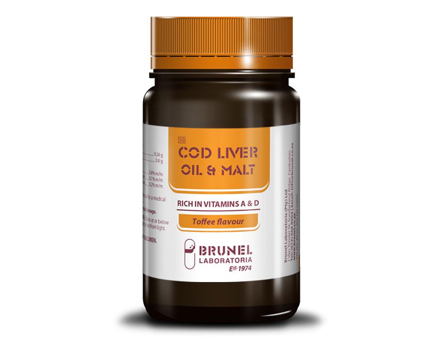 Cod Liver Oil & Malt - 250 g