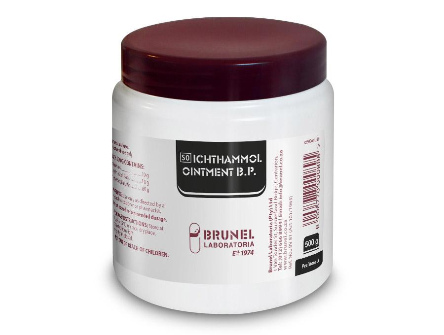 Ichthammol Ointment B.P. - 500 g