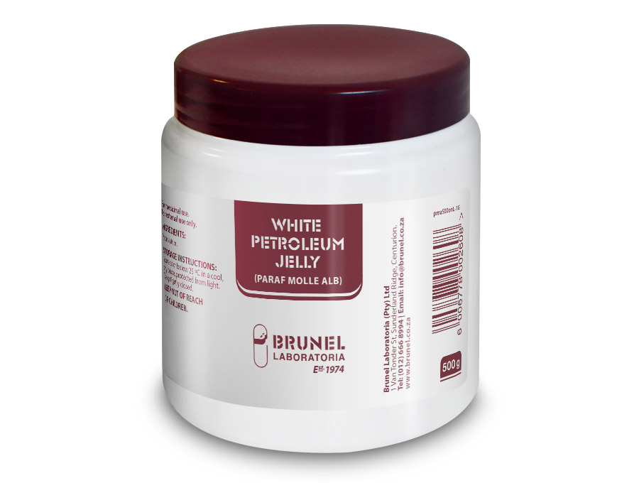 White Petroleum Jelly (Paraf Molle Alb) - 500 g