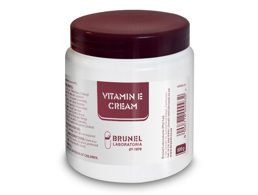 Vitamin E Cream - 500 g