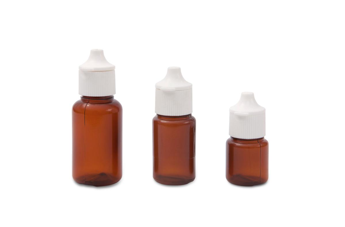 Plastic Dropper Bottles