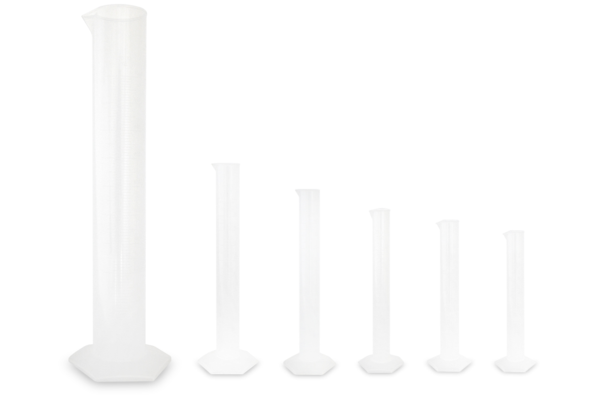 Plastic Measuring Cylinders