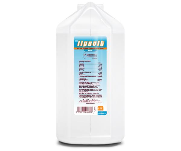 Lipovit Syrup - 2.5 L