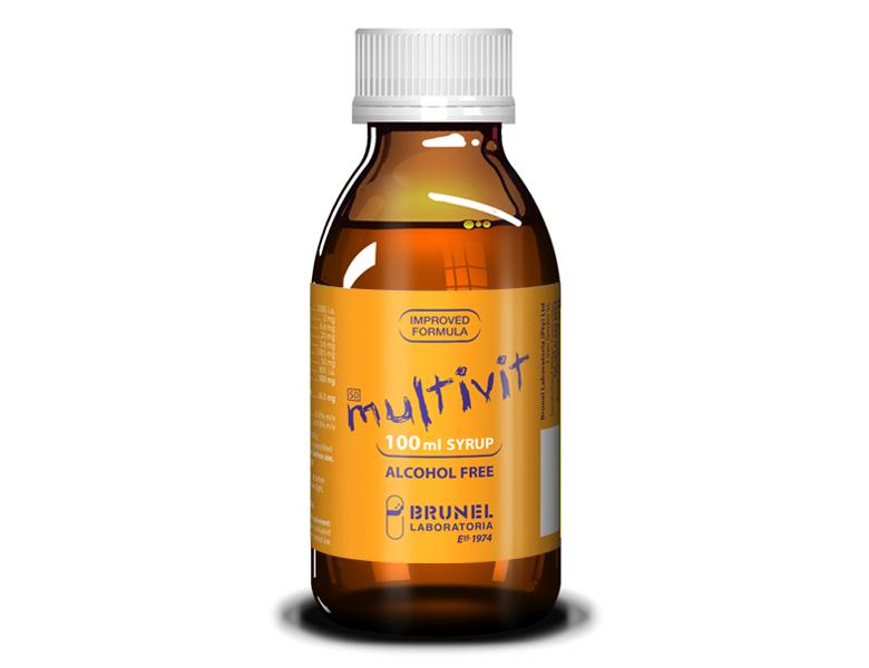 Multivit Syrup - 100 ml
