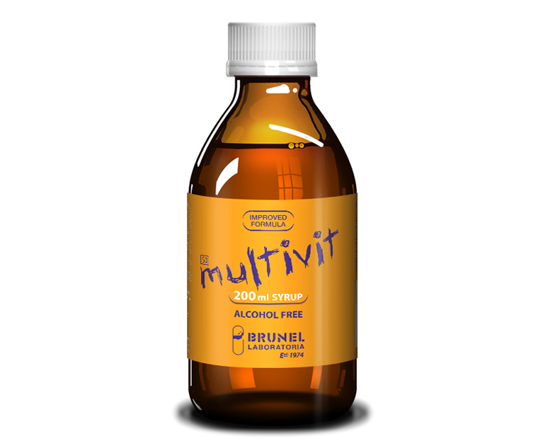 Multivit Syrup - 200 ml