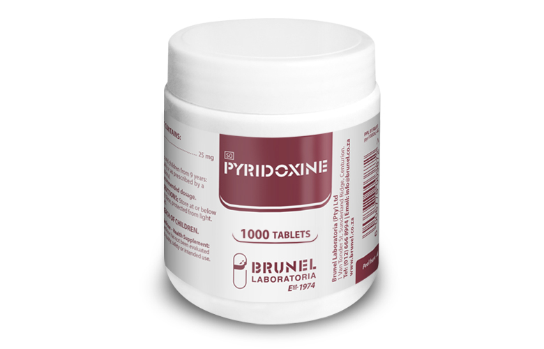 Pyridoxine Tablets - 1000
